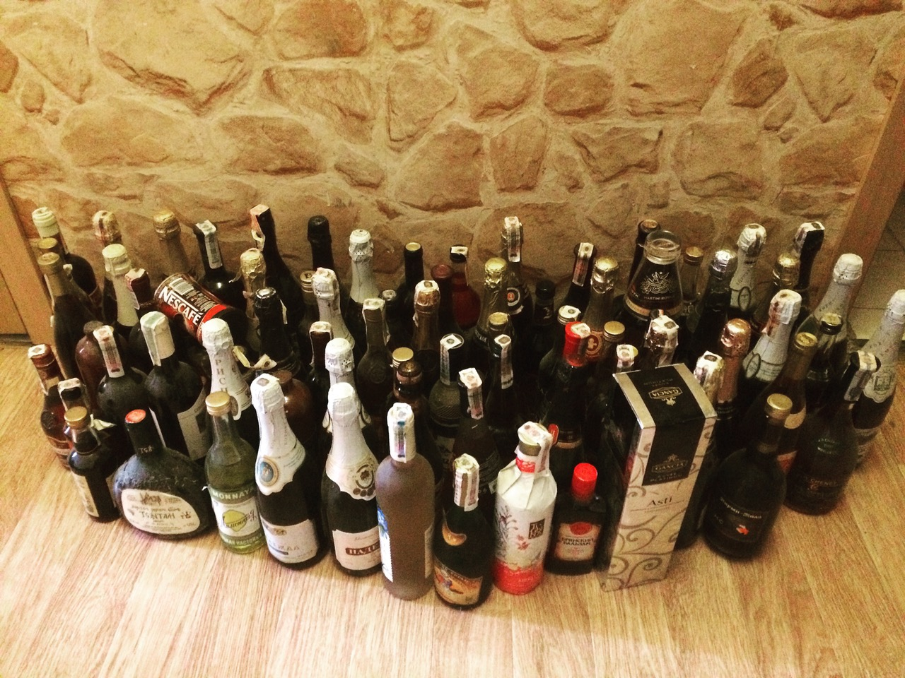 Фотки с алкоголем дома
